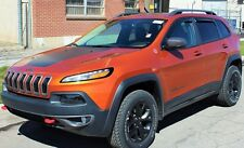 Jeep Cherokee 2014 - 2016 In Channel Vent Visors Wind Deflector Shade 4 pc