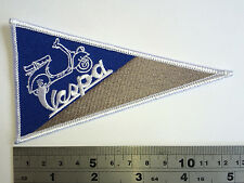Vespa FLAG Patch - Embroidered - Iron or Sew On