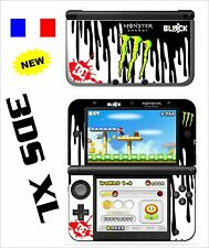 SKIN STICKER AUTOCOLLANT DECO POUR NINTENDO 3DS XL - 3DSXL REF 19 BLOCK