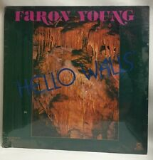Faron Young Hello Walls, Caywood Music Stereo/AG#8134 Lp Record Sealed New Rare