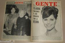 GENTE 1962/10=CLAUDIA CARDINALE=JEAN ANOUILH=ALBERTO LIONELLO=ELSA MARTINELLI=
