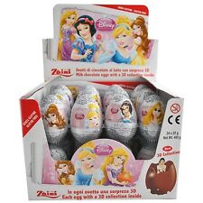 10 Eggs - Chocolate Zaini Disney PRINCESS Surprise Eggs with Girls Toys Inside
