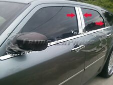 2005-2010 Dodge Magnum 6Pc Chrome Pillar Post Trim Stainless Steel