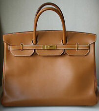 HERMES CLASSICO 40 cm box VITELLO G / HW Birkin BAG