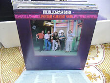 Bluegrass Band Another Saturday Night vinyl LP Voyager EX Butch Robins