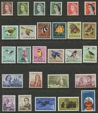 1966 Year Collection of Decimal Issues - Complete Set of 27 Stamps  MUH