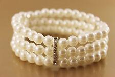 Armband Damen Perlen Strass C500