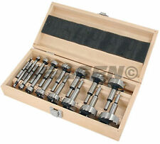 Wood Working Forstner Drill Bit Set - 16 Piece - Hole cutter - in wood case