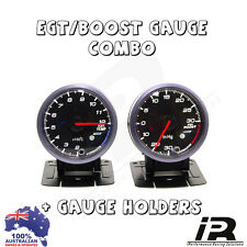 PYRO EGT EXHAUST GAS TEMPERATURE GAUGE + TURBO BOOST PSI KIT HILUX SR SR5 BT-50