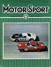 Motor Sport (March 1966) Audi 1700, Beetle 1300, Daytona, Monte Carlo Rally