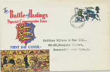 2414 1966 Battle of Hastings 4 d superb ill. FDC thimble FDI NEWCASTLE UPON TYNE