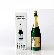 New Vanishing Champagne (color black or green),Stage Magic tricks,illusion,party