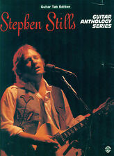 Stephen Stills Steven song book Guitar Tab Anthology tablature Crosby Nash Young