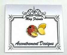Orange Crystal Fish Magnet Needle Holder for Needlepoint Accountrement Designs