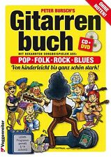 GITARRENBUCH 1, mit CD u.DVD v. Peter Bursch,aktualisierte Neuauflage-PORTOFREI!