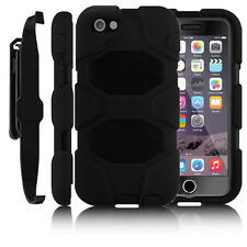 Heavy Duty Survivor Builder Armour Shock Proof Stand Case For Apple iPhone 5 5S