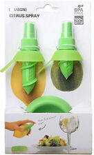 2Pcs functional Juice Spray Fresh Fruit Citrus Lemon Lime Kitchen Juicer Tool