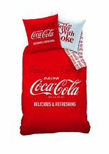 Cti 039857 Coca Cola Enjoy Duvet Cover 140 x 200 cm/Pillowcase Pillow Cases 6...