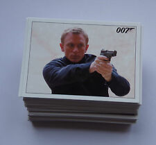 James Bond Archivos 2015 base conjunto de cartas coleccionables