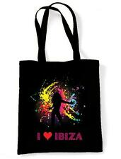 I LOVE IBIZA  SHOULDER  BEACH BAG- Space Pacha Clubbing Amnesia Eden