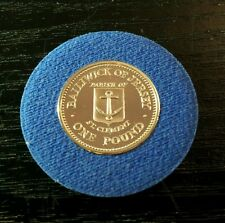1985 Bailiwick of Jersey Parish of St Clement Proof £ 1 ONE POUND COIN Elizabeth