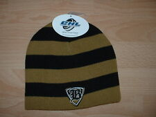 OKLAHOMA CITY BLAZERS CHL CUFFLESS WINTER KNIT HAT CAP - BLACK/GOLD COLLECTORS