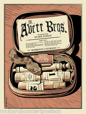 AVETT BROTHERS PORTUGAL THE MAN RED ROCKS 2013 CONCERT POSTER LE  LOW # 20's