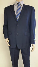 Men's Premium Quality Solid Navy Modern Fit Dress Suits Brand New Suit 36 S