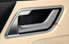 Chrome Interior Door Handle Cover Frame Trim Land rover FREELANDER 2 LR2 2008 +