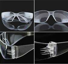 Mens Lab Dental Goggle Glasses UV Protective Safety Eye Impact Curing Clear Lens