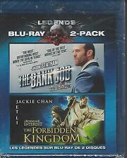 Legends of the Expendables: The Bank Job/The Forbidden Kingdom (Blu-ray Disc,...