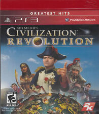 Civilization Revolution PS3 New Playstation 3
