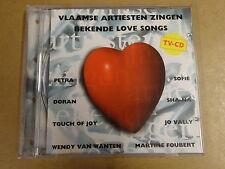 CD / VLAAMSE ARTIESTEN ZINGEN BEKENDE LOVE SONGS