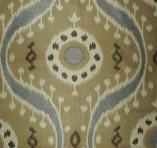 S HARRIS Tabriz Woven Central Asian Spun Rayon Belgium Grey Camel New Remnant