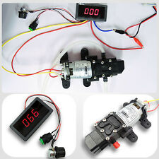 4L/Min Diaphragm Water Self Priming Pump+Digital Display Led DC Motor Controller