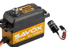 Savox SC-1268SG HV High Torque Steel Gear Digital Servo w/ Free Glitch Buster