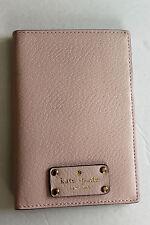NWT Kate Spade Imogene Wellesley Leather Passport Holder Balletslip WLRU2702