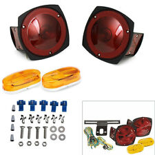 12V Trailer Light Kit Multi-Function Tail Lights Side Markers boat auto truck