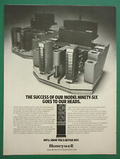 9/1978 PUB HONEYWELL TEST INSTRUMENT MODEL NINETY-SIX TAPE RECORDER ORIGINAL AD