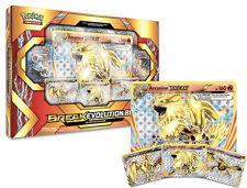 Arcanine BREAK Holo Evolution Pokemon Card Box   Shiny Foil + 5 Booster Packs
