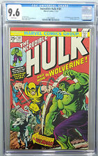 INCREDIBLE HULK #181 CGC 9.6 WHITE PAGES FIRST APPEARANCE OF WOLVERINE