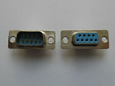 5 pairs RS232 Serial 9 Pin DB9 connectors female and male soldering plug M334