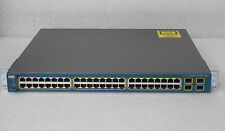 CISCO WS-C3560G-48TS-S Switch 48 10/100/1000 4 SFP w/ racks  - 1 YEAR WARRANTY