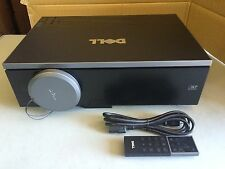 DELL 7609WU DLP PROJECTOR, 3850 LUMENS, ONLY 818 ORIGINAL HOURS! WORKS GREAT!