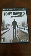 Tony Hawk's Proving Ground (Sony PlayStation 2, 2007) VERY GOOD COMPLETE!