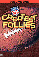 NFL Greatest Follies Volume 1 (DVD-2006) DON'T BUY FROM AUTO 1 CENT UNDER ME NEW