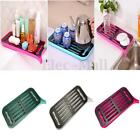 Kitchen Sink Plastic Dish Drying Diainer Rack Tea Set Tray Organizer Holder