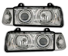 ANGEL EYES Headlights in chrome clear finish for 3er BMW E36 salon wagon compact