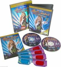 HANNAH MONTANA e MILEY CYRUS Best Of Both Worlds Concert (2007) 2 DVD BOX 3-D