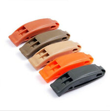 5x Safety Emergency Whistle Outdoor Camping Hiking Boat Survival Distress Pop